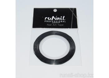 Самоклеющаяся лента для дизайна ногтей (серебро, голографическая), 20 м