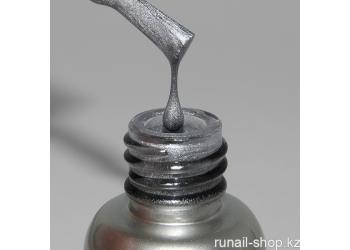 Металлизированная краска для дизайна ногтей (цвет:серебро) 5мл