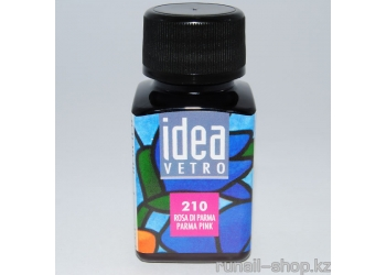 Витражные краски для ногтей Idea Vetro - №210 розовый пармский,10мл