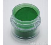 Цветная акриловая пудра (зеленая, Pure Green), 7.5 г