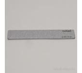 Пилка для искусственных ногтей (серая, прямая, 100/100)