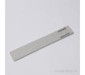 Пилка для искусственных ногтей (серая, прямая, 150/150)