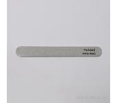 Пилка для искусственных ногтей  (серая, закруглённая, 100/100)
