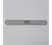 Пилка для искусственных ногтей (серая, закруглённая, 100/180)