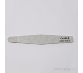 Пилка для искусственных ногтей (серая, ромб, 100/180)