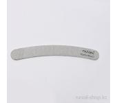 Пилка для искусственных ногтей (серая, бумеранг, 150/150)