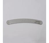 Пилка для искусственных ногтей (серая, бумеранг, 180/180)