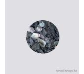 Дизайн для ногтей:  ракушки для ногтей (черный)