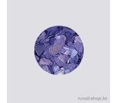 Ракушки для ногтей (синий)