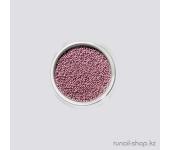 Бульонки для ногтей (розовый)