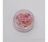 Дизайн для ногтей: бабочки из ткани для ногтей (розовый)