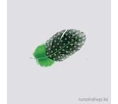 Перья для дизайна ногтей (зеленый)