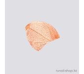 Сухие листья для дизайна ногтей (оранжевый)