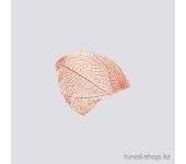 Сухие листья для наращивания ногтей (коричневый)