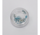 Сухоцветы для ногтей (голубой)