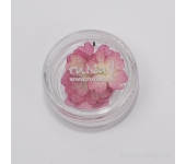 Сухоцветы для ногтей (темно-розовый)