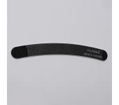 Пилка для искусственных ногтей (черный, бумеранг, 200/200)