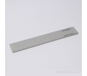 Пилка для искусственных ногтей (серая, прямая, 120/120)