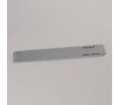 Пилка для искусственных ногтей (серая, прямая, 180/200)