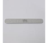 Пилка для искусственных ногтей (серая, закруглённая, 120/150)