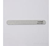 Пилка для искусственных ногтей (серая, закруглённая, 150/180)