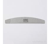 Пилка для искусственных ногтей (серая, полукруглая, 100/120)