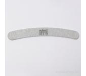 Пилка для искусственных ногтей (серая, бумеранг, 120/120)