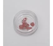 Резиновые аппликации для ногтей (клубника, красный)