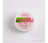 Цветной биогель (с блестками, Сияющий розовый, Shiny Pink), 7,5 г