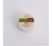Цветной биогель (перламутровый, Рубин, Ruby), 7,5 г