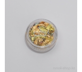 Фольга для наращиваня ногтей цветная №1156