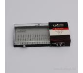 Пучки для наращивания ресниц без узелков Luxury, 12 мм