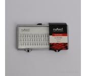 Пучки для наращивания ресниц с узелками Luxury, 12 мм