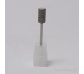 Фреза алмазная для маникюра 6,6х12,6мм,мелкая насечка