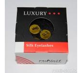 Ресницы для наращивания Luxury, шёлк Ø 0,10 мм, №10
