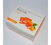 Салфетки для снятия мультилака и гель-лака (мандарин) 200шт