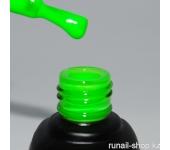 Гель-лак Laque (неон, парфюмированный, Брызги лайма, Lime Splashes), 12 мл