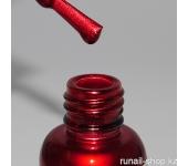 Металлизированная краска для дизайна ногтей (цвет:красный) 5мл
