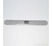 Пилка для искусственных ногтей (серая, закругленная, 80/80)