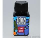 Витражные краски для ногтей Idea Vetro - №165 бордо,10мл
