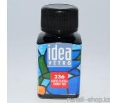 Витражные краски для ногтей Idea Vetro - №236 красная вишня,10мл