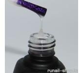 Глянцевый закрепитель для гель-лака Laque с эффектом (пурпурный, Purple Effect), 12 мл