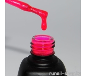 Гель-лак Laque (с блестками, Бабл Гам, Bubble Gum), 12 мл