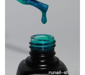 Гель-лак Laque (перламутровый, Изумрудное колье, Emerald Necklace), 12 мл