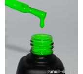 Гель-лак Laque (натуральный, Неоновый зеленый, Neon Green), 12 мл