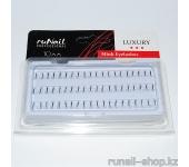 Пучки для наращивания ресниц без узелков Luxury, норка Ø 0,15 мм, №10
